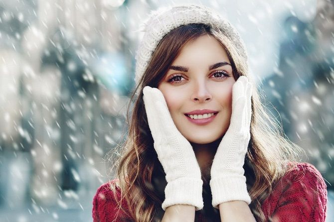 Как не навредить коже зимой