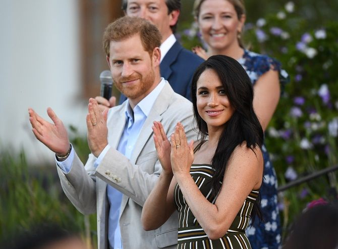 of Duke and Duchess of Sussex