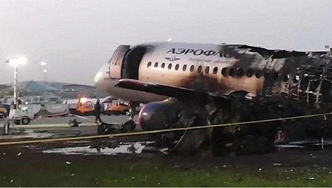 крушение Sukhoi Superjet 100