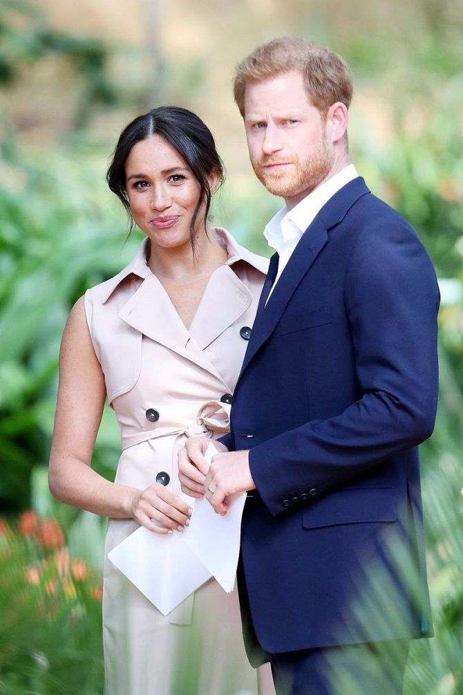 of Duke and Duchess of Sussex photo