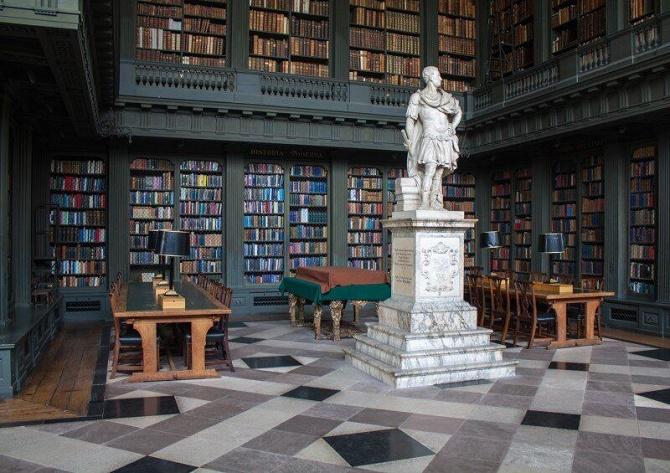 10 уникальных библиотек мира, в которых замираешь от восторга 2