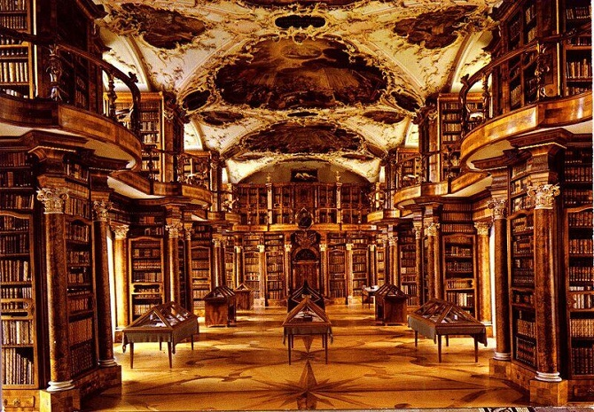 Бібліотека монастиря святого Галла