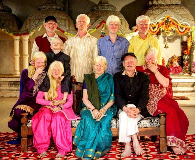 Сім'я Розітурая Пуллан з Індії