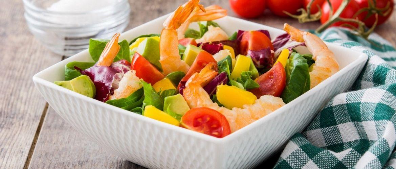 Прості і смачні рецепти салатів з креветками