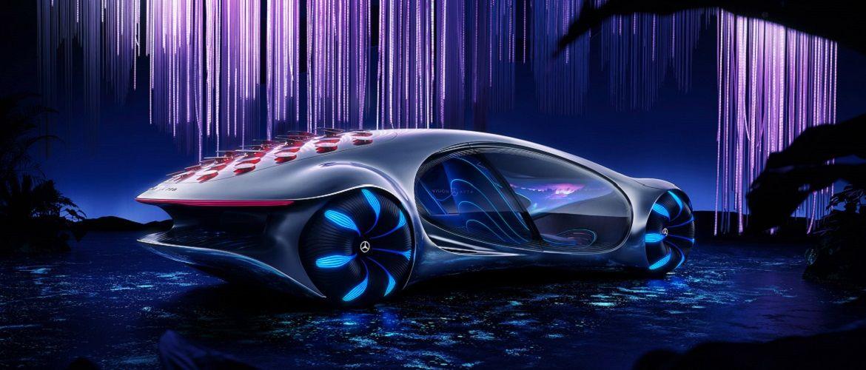 Это нереально! Mercedes-Benz создал футуристический автомобиль в стиле фильма «Аватар»