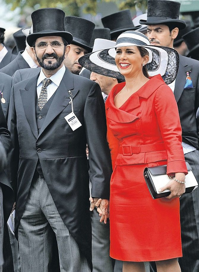Принцесса Хайя и шейх Мохаммед ибн Рашид аль-Мактум