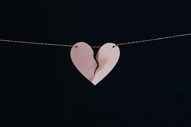 паперове серце