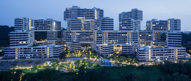 Инновации архитектуры Сингапура: поиграем в Лего?