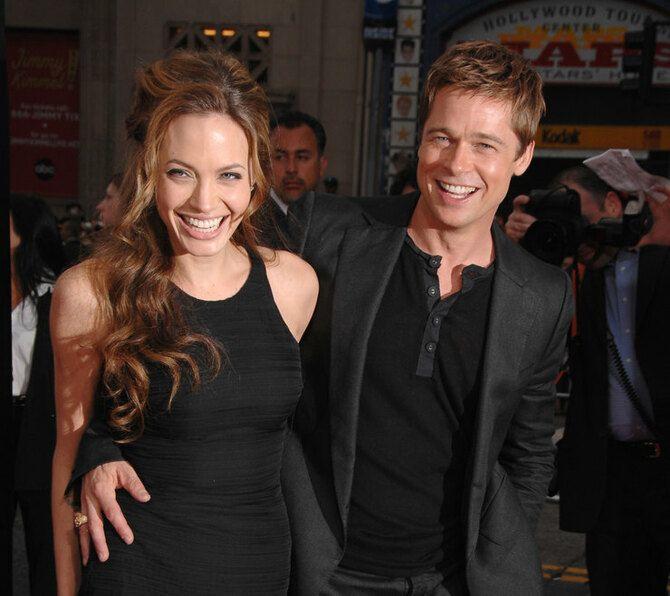 Джолі та Пітт