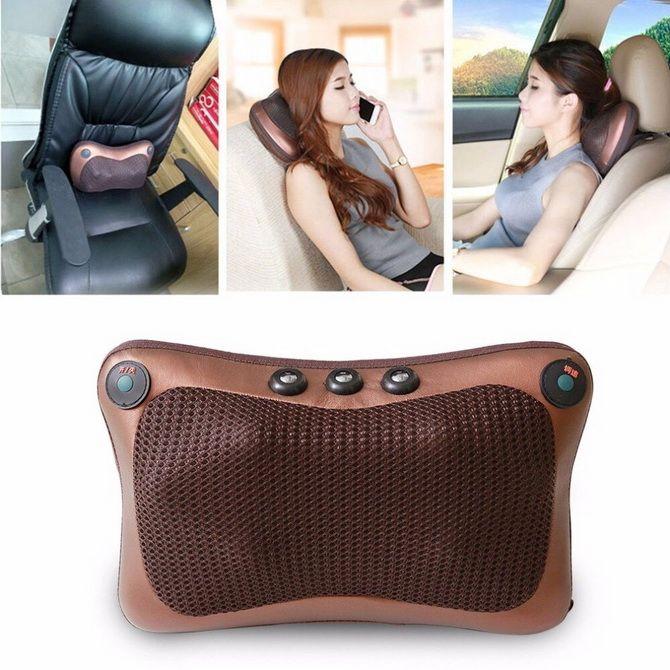 Электронная массажная подушка