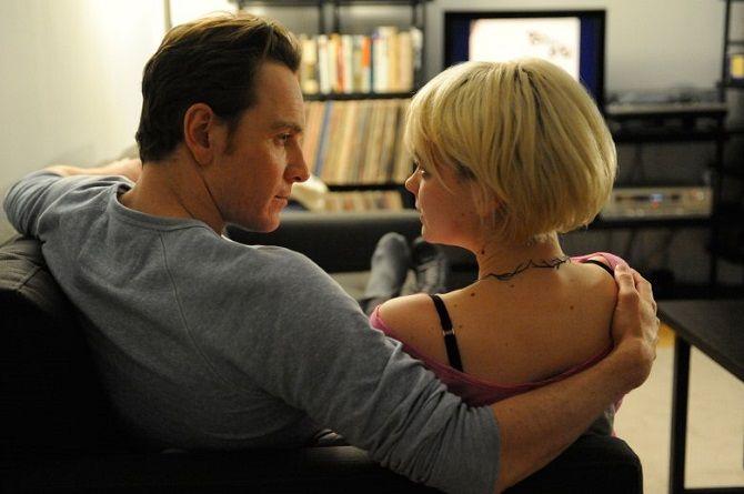 Кадр з фільму «Сором» (2011)