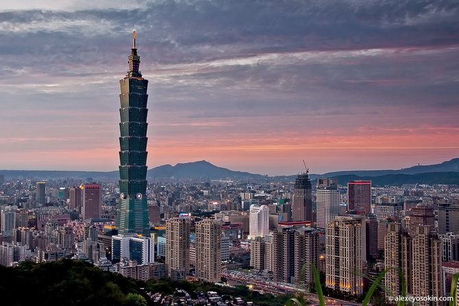 Тайбей 101 в Тайвані