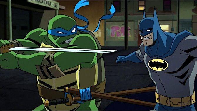 Бэтмен против Черепашек Ниндзя