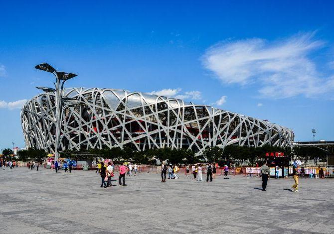 Стадіон Пташине гніздо в Пекіні