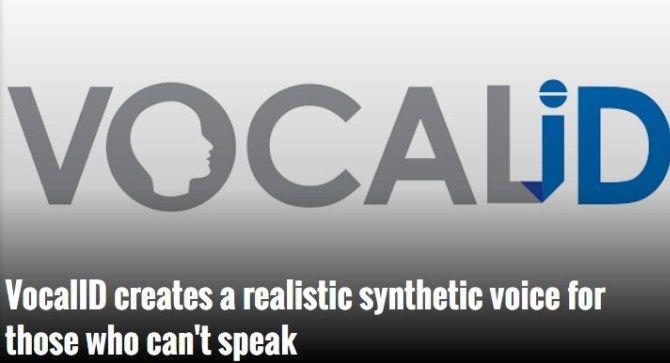 стартап VocaliD