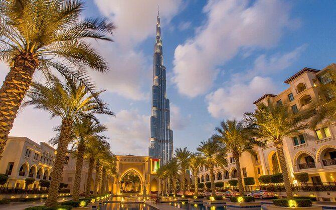 Бурдж-Халіфа в Дубаї