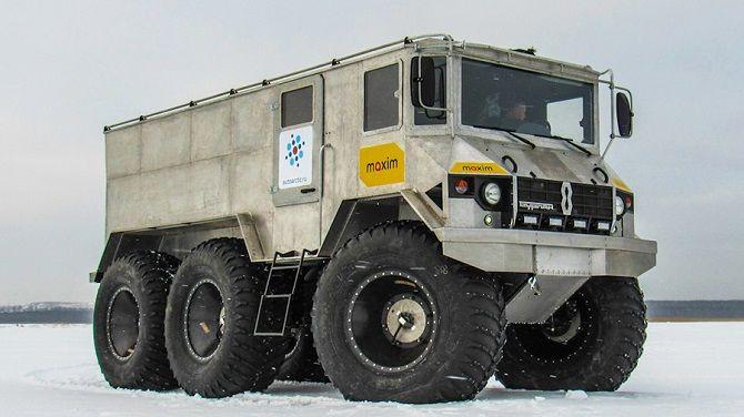 Вездеход-амфибия BURLAK AMPHIBIOUS ATV