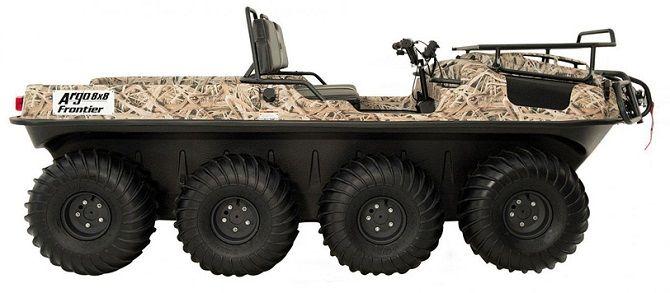 Вездеход-амфибия FRONTIER 750 SCOUT 8×8 от ARGO