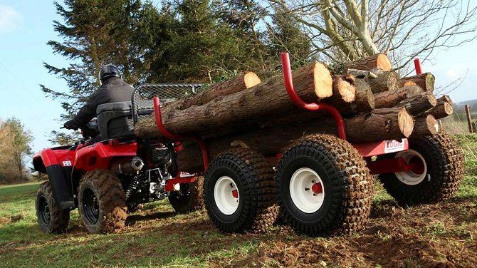 HONDA TRX500 FOREMAN ATV