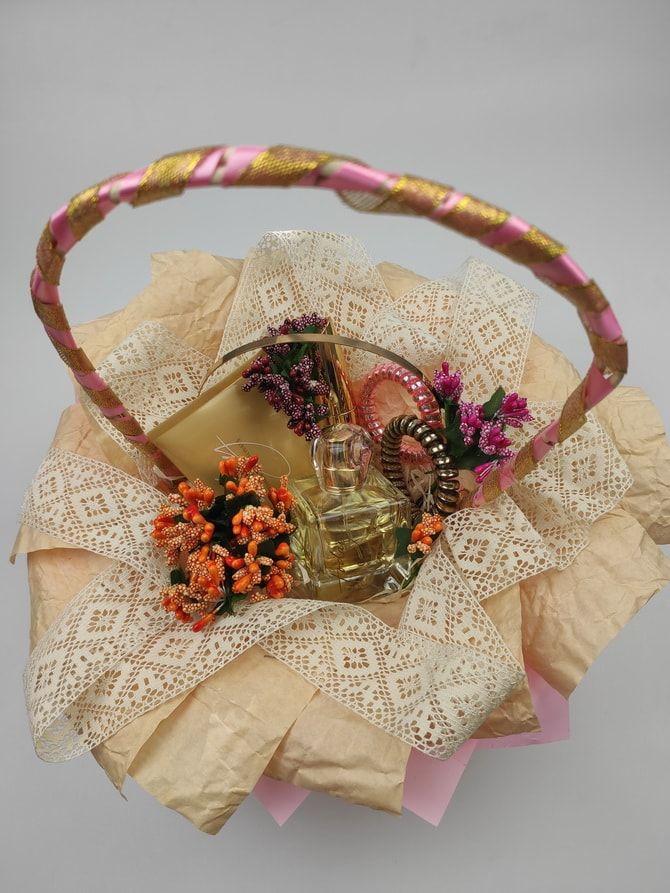 корзинка з парфумами