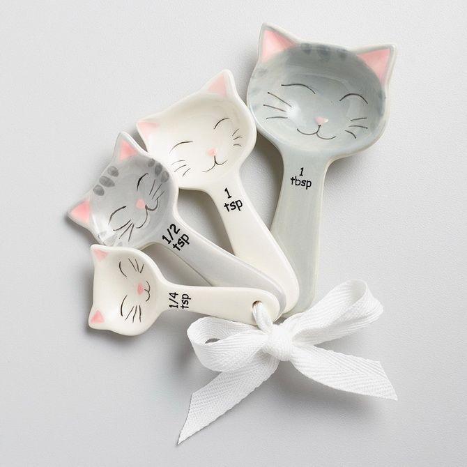 ложки с котиками