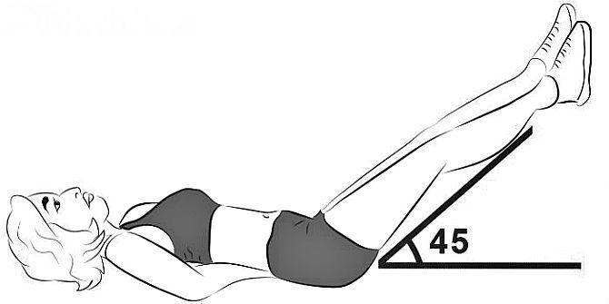 Подъем ног фитнес