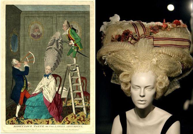 зачіски рококо