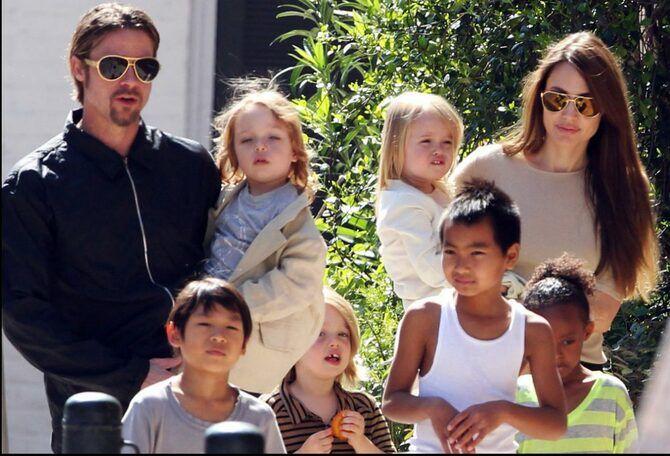 дети Анджелины Джоли