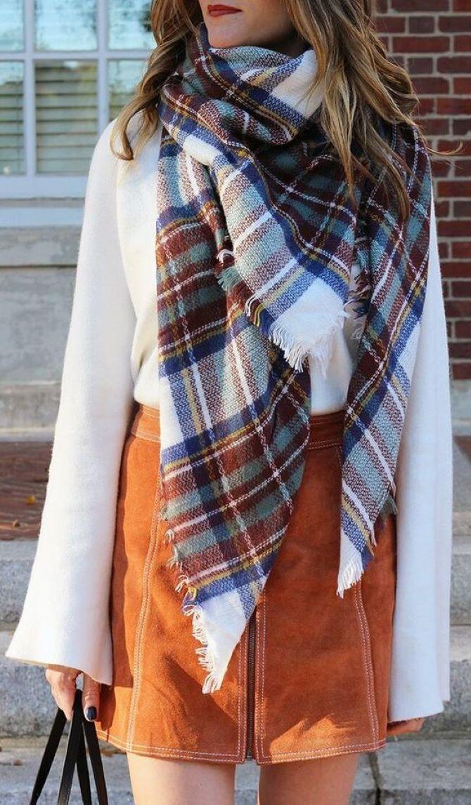 Зимние забавы: самые модные шарфы 2020 года 1