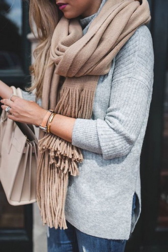 Зимние забавы: самые модные шарфы 2020 года 5