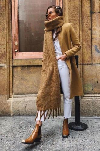 шарф длинный