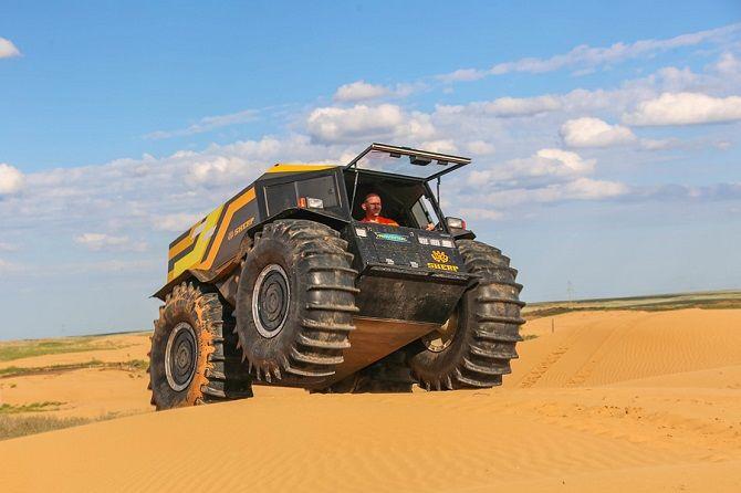 Вездеход-амфибия SHERP ATV