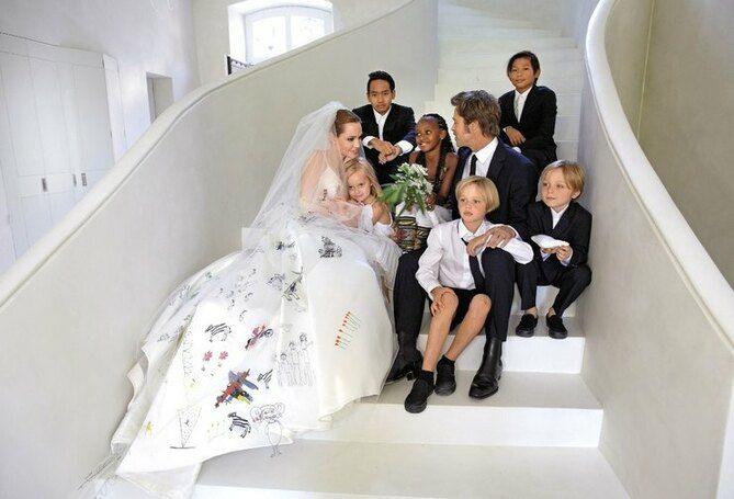 весілля анджеліни джолі та бреда пітта