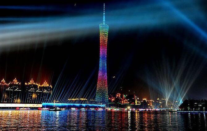 Телевежа в Гуанчжоу