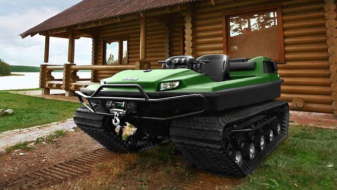 TINGER TRACK S500 ATV
