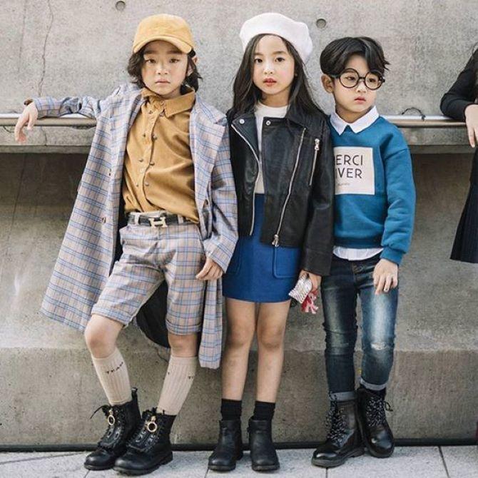 детские грубые ботинки