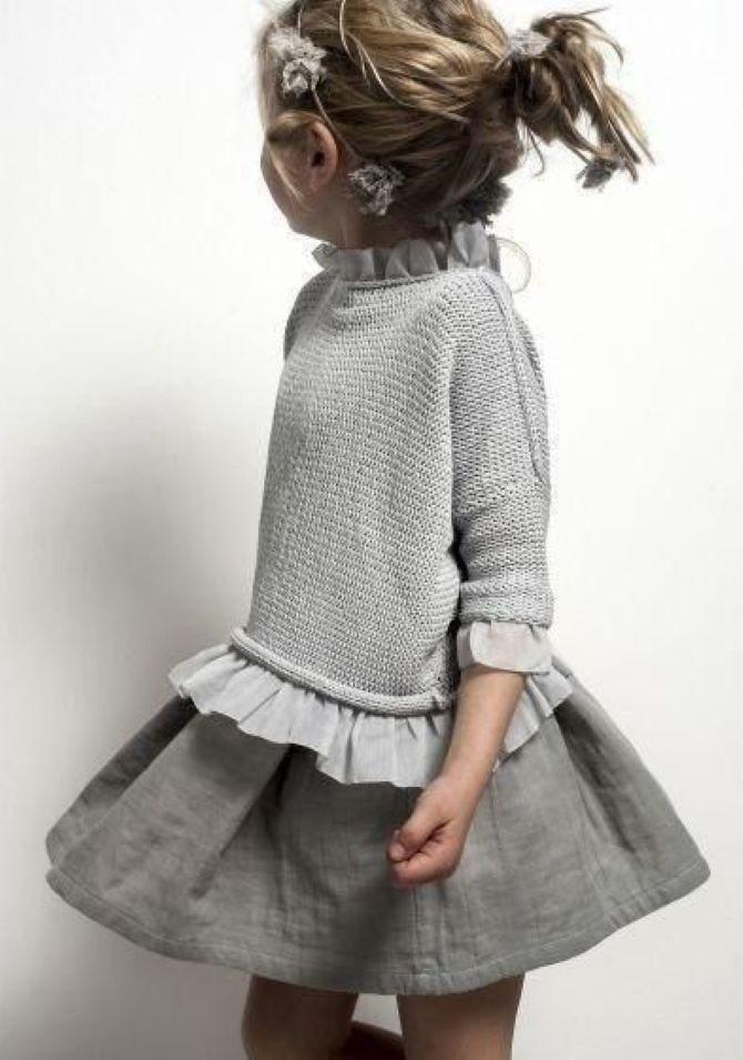 модне плаття для дівчинки