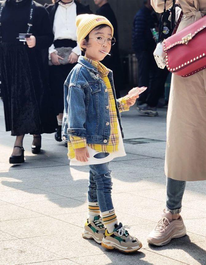 детская мода весна