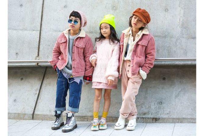 весняна мода для дітей