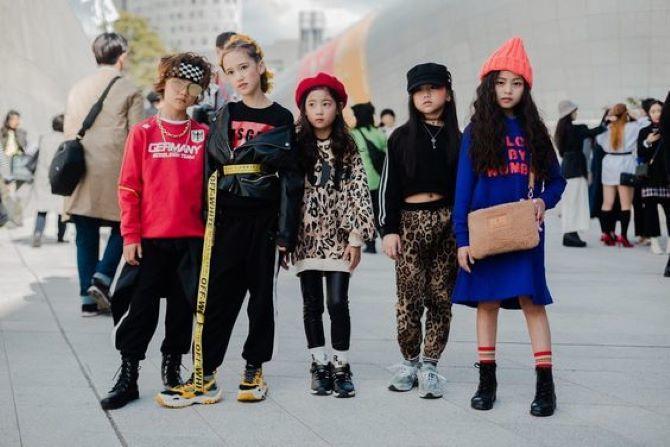як носити модний одяг дітям