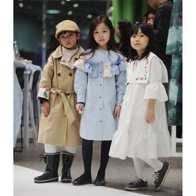 модные девочки