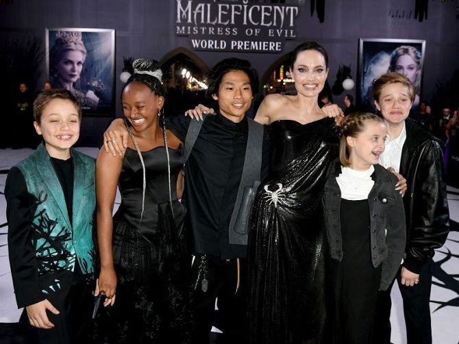 Angelina Jolie a