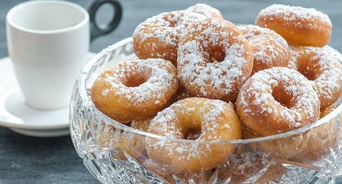 Рецепт пончиков на кефире