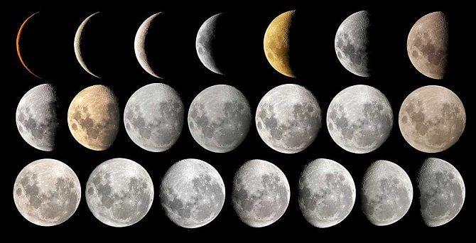 Місячний календар на лютий 2020
