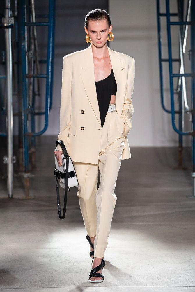белый пиджак женский