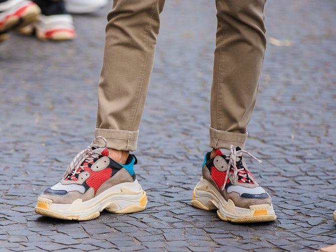 Dad sneakers Balenciaga