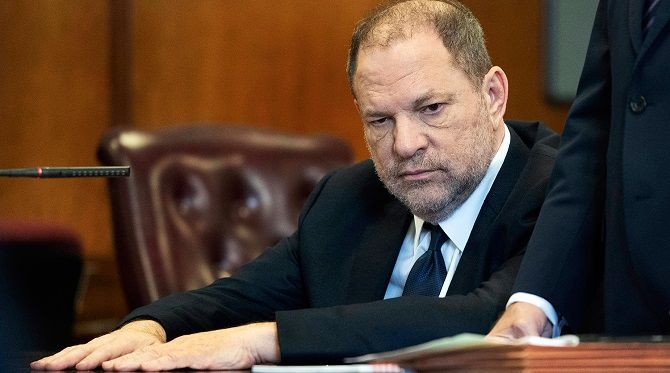 jury trial was held over Harvey Weinstein