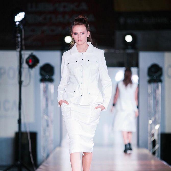белые пиджаки женские фото