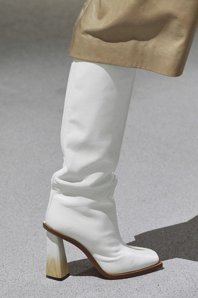сапоги зимние женские на каблуке
