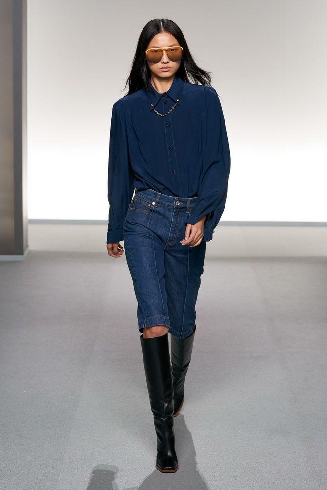 бермуди джинсові фото